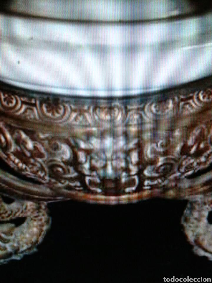Antigüedades: QUINQUEL OPALINA - Foto 3 - 85870395