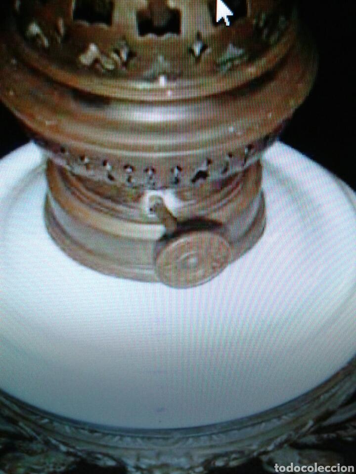 Antigüedades: QUINQUEL OPALINA - Foto 4 - 85870395