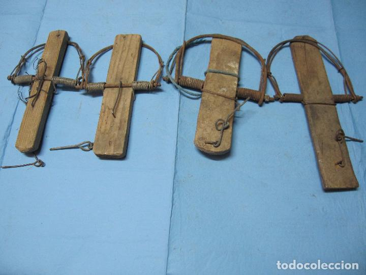 Trampas pajaros de madera y alambre cepos balle comprar - Cepos para ratones ...