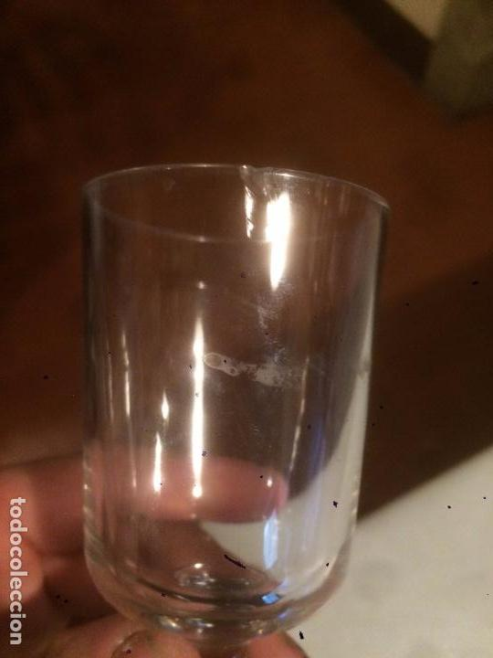 Antigüedades: Antigua pareja de copa / copas de cristal soplado a mano de los años 20-30 - Foto 6 - 85913996