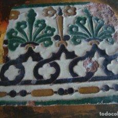 Antigüedades: AZULEJO DE TOLEDO SIGLO XVI. Lote 85943796