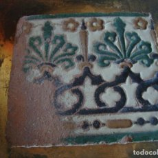 Antigüedades: AZULEJO DE TOLEDO SIGLO XVI. Lote 85944156