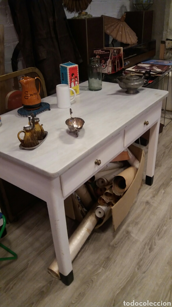 Antigua mesa de cocina comprar mesas antiguas en - Mesas antiguas de cocina ...