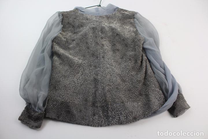 Antigüedades: BLUSA DE SEDA Y ALGODON . S.XX. - Foto 5 - 86017088