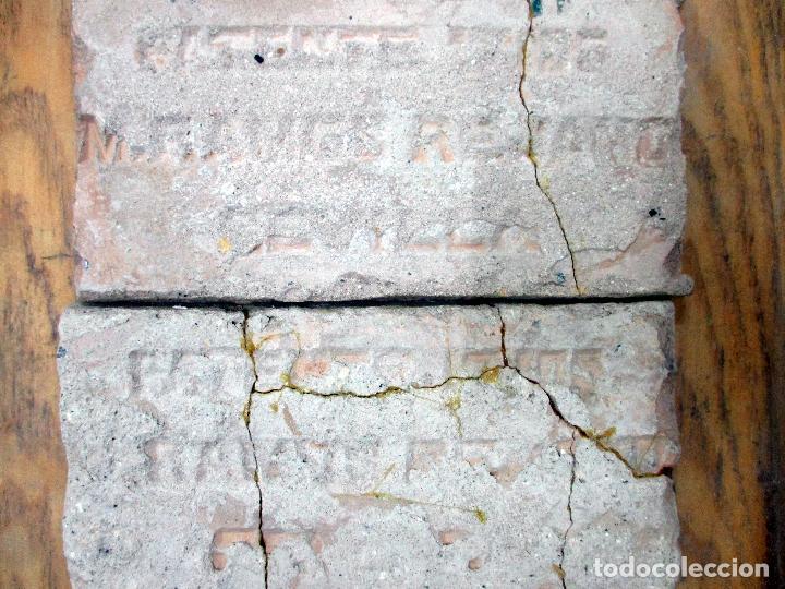 Antigüedades: AZULEJO DE ARISTA. RAMOS REJANO. 2 PIEZAS. TRIANA, SEVILLA. - Foto 2 - 31384266