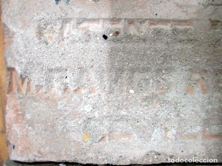 Antigüedades: AZULEJO DE ARISTA. RAMOS REJANO. 2 PIEZAS. TRIANA, SEVILLA. - Foto 3 - 31384266