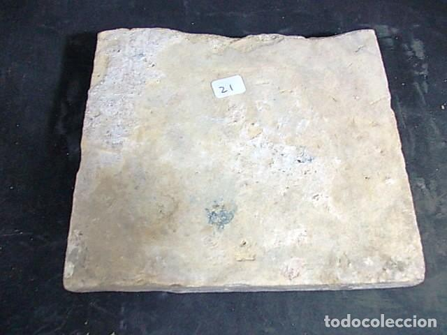 Antigüedades: ANTIGUO AZULEJO VALENCIANO DEL XVII-XVIII - Foto 3 - 86090740