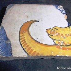 Antigüedades: ANTIGUO AZULEJO VALENCIANO DEL XVII-XVIII. Lote 86091260