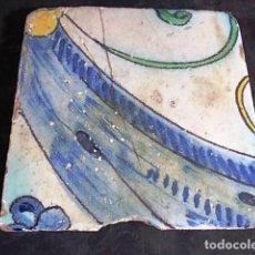 Antigüedades: ANTIGUO AZULEJO VALENCIANO. Lote 86091440