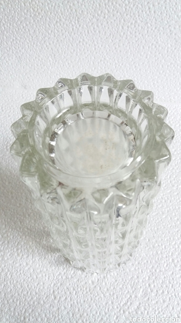 Antigüedades: Jarrón cristal italiano - Foto 4 - 86101128