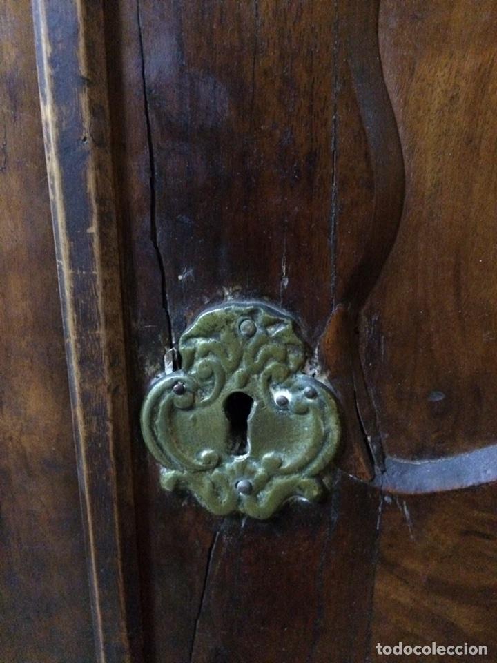 Antigüedades: Antiguo armario de raíz de nogal - Foto 5 - 86106735
