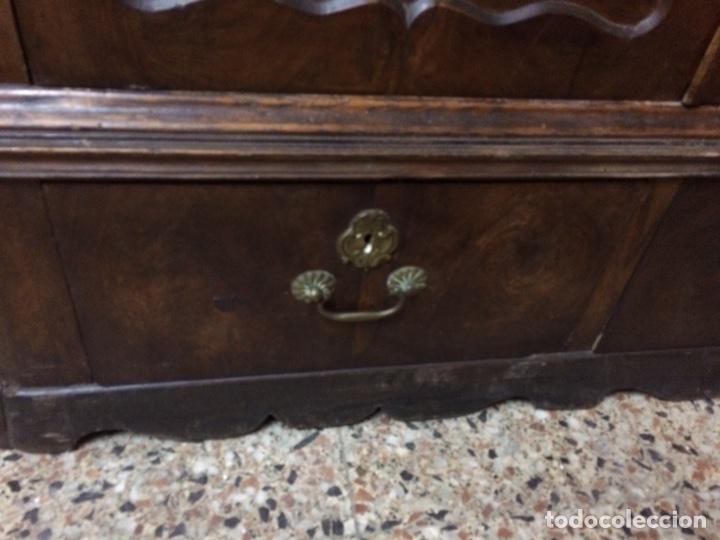 Antigüedades: Antiguo armario de raíz de nogal - Foto 6 - 86106735