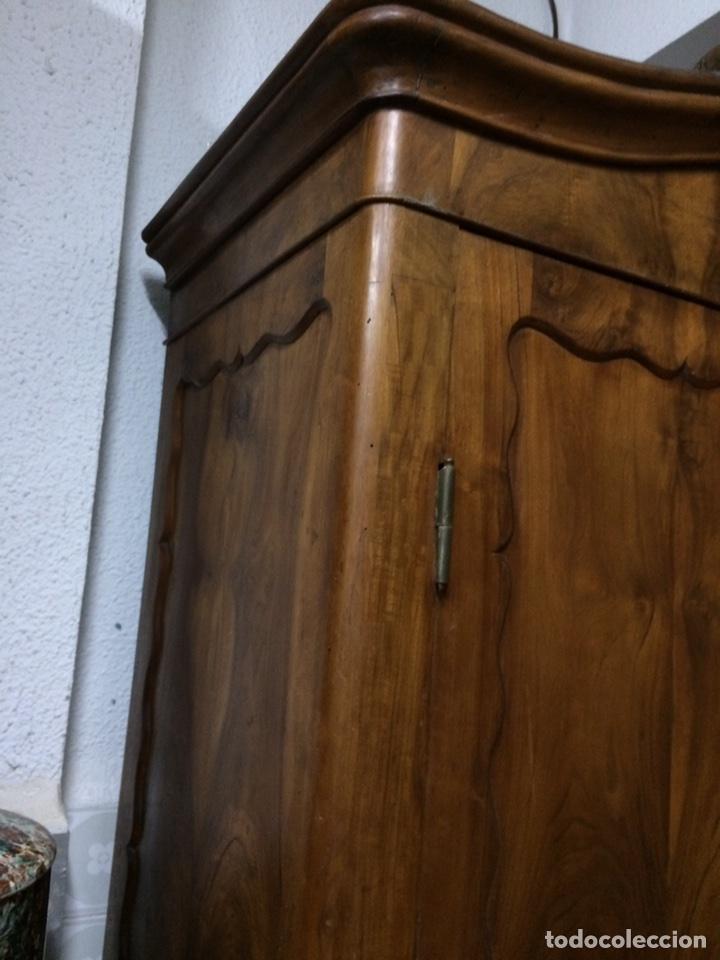 Antigüedades: Antiguo armario de raíz de nogal - Foto 8 - 86106735