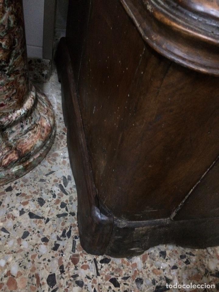 Antigüedades: Antiguo armario de raíz de nogal - Foto 9 - 86106735