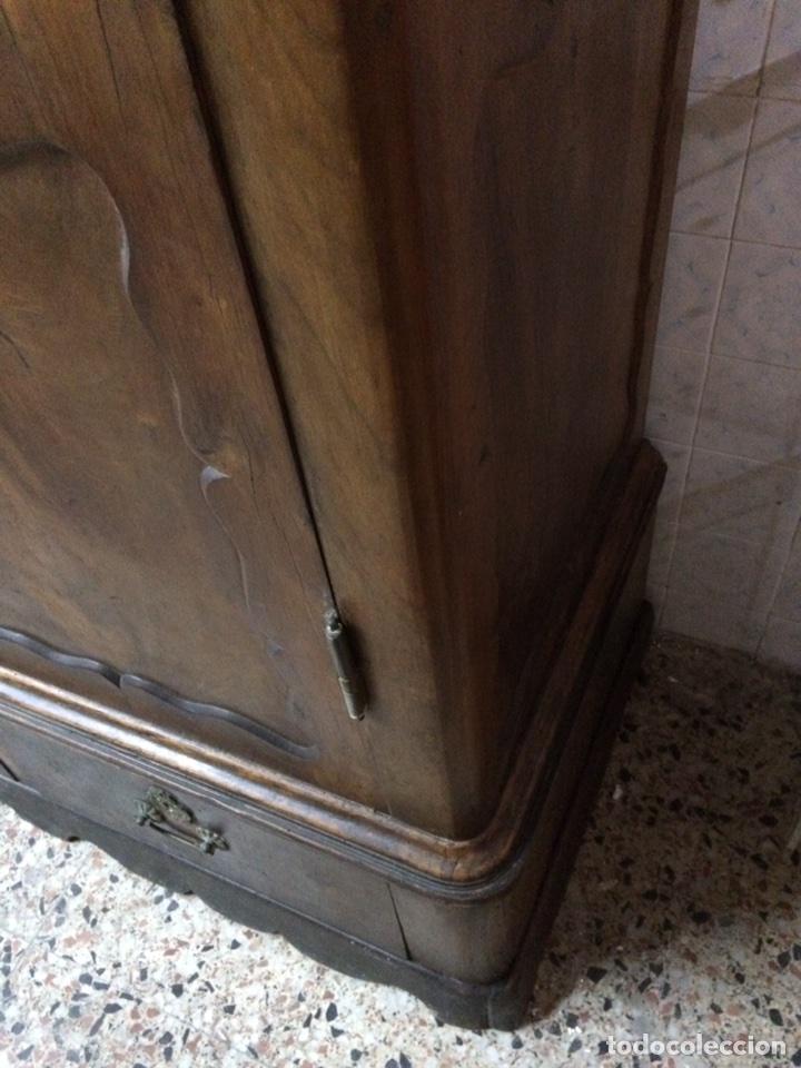 Antigüedades: Antiguo armario de raíz de nogal - Foto 11 - 86106735