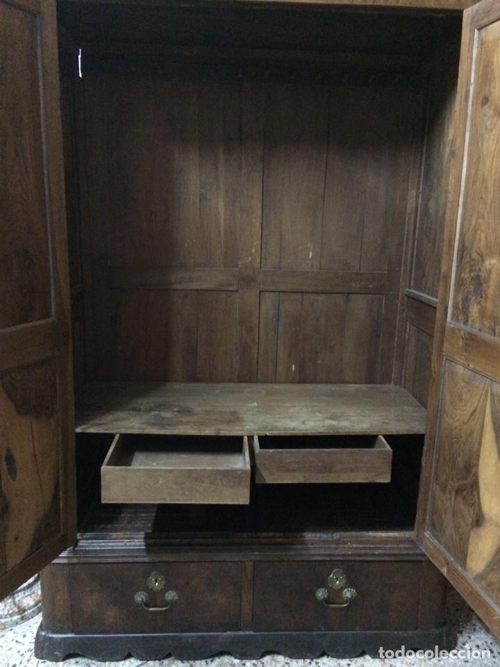 Antigüedades: Antiguo armario de raíz de nogal - Foto 14 - 86106735