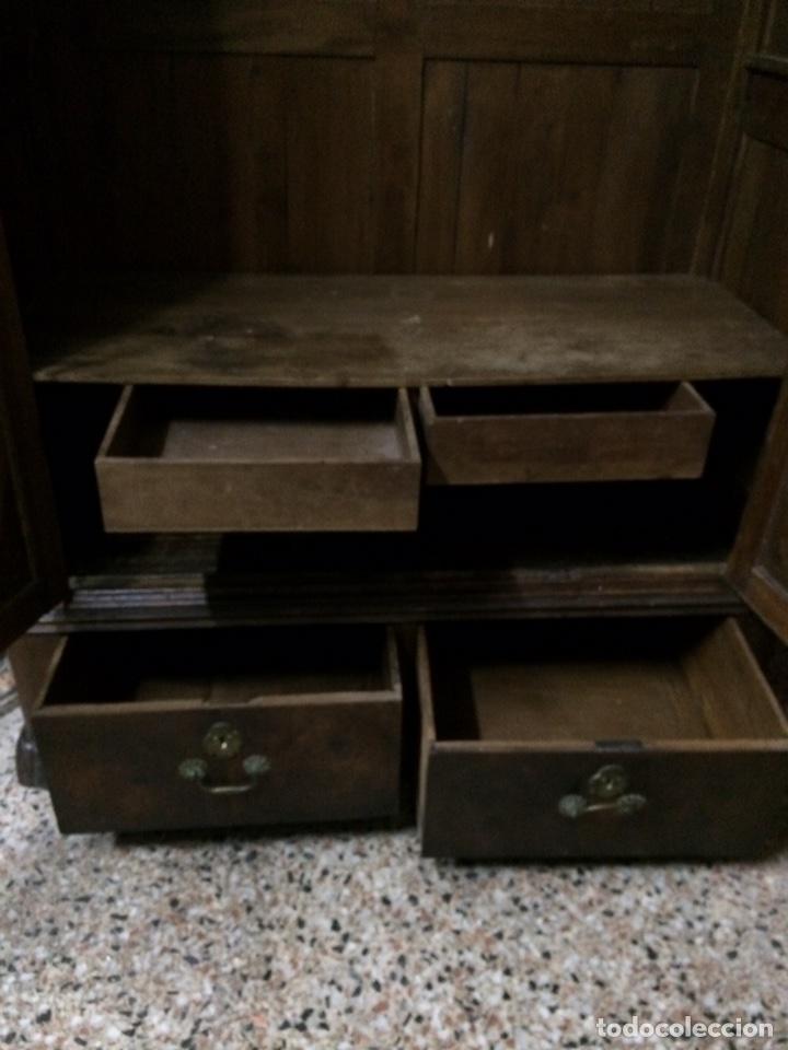 Antigüedades: Antiguo armario de raíz de nogal - Foto 15 - 86106735