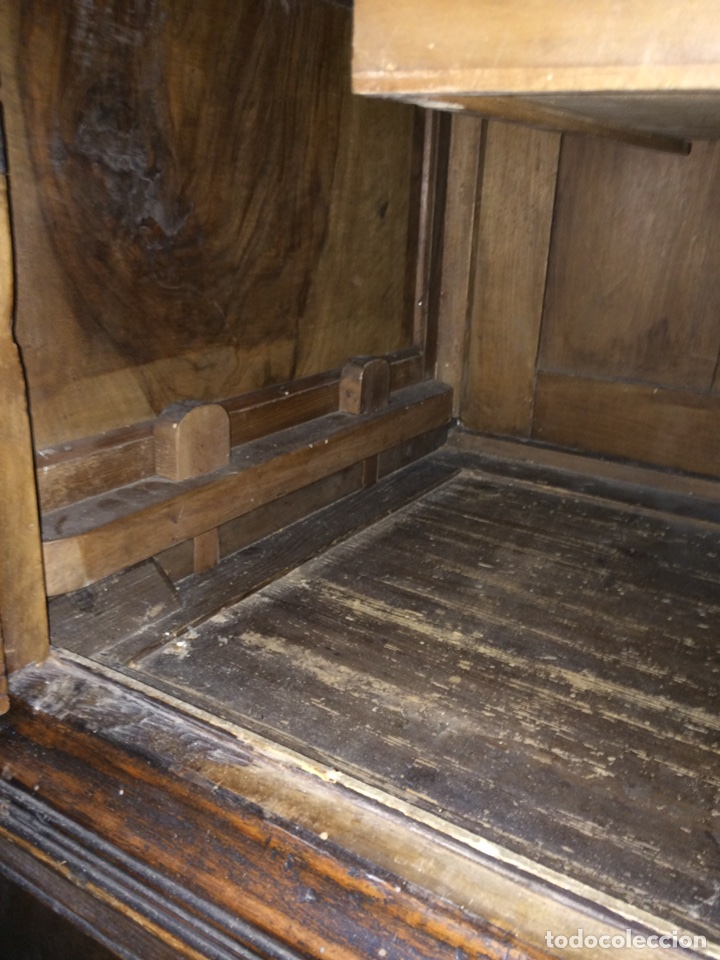 Antigüedades: Antiguo armario de raíz de nogal - Foto 18 - 86106735