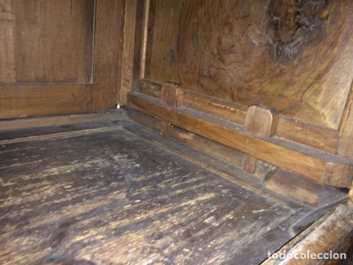 Antigüedades: Antiguo armario de raíz de nogal - Foto 19 - 86106735