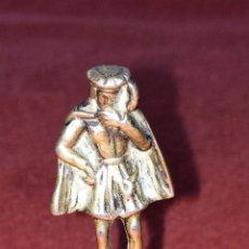 Antigüedades: CAMPANILLA. PLATA CINCELADA. PUNZONADA. ESPAÑA. CIRCA 1930. Lote 86121536