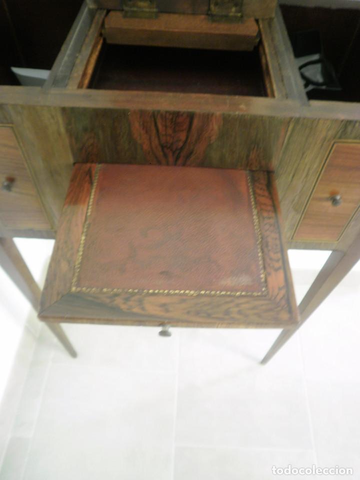 TOCADOR O PAPELERA FRANCÉS. (Antigüedades - Muebles Antiguos - Auxiliares Antiguos)