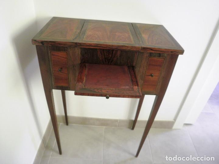 Antigüedades: Tocador o papelera francés. - Foto 3 - 86155188