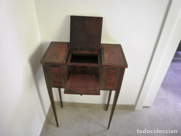 Antigüedades: Tocador o papelera francés. - Foto 4 - 86155188
