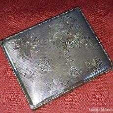 Antigüedades: POLVERA. PLATA CINCELADA. MARCAS KARL HOHFMAN. PFORZHEIM. ALEMANIA. CIRCA 1920. Lote 86118036