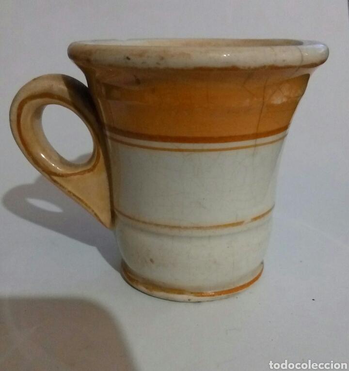 TAZA POCILLO CHOCOLATE PICKMAN (Antigüedades - Porcelanas y Cerámicas - La Cartuja Pickman)