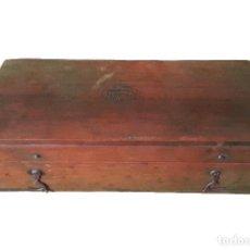 Antigüedades: ANTIGUA CAJA PERVINUM SALLERDIN DUJARDIN, PARIS S. B. RESTAURADA. Lote 86190196