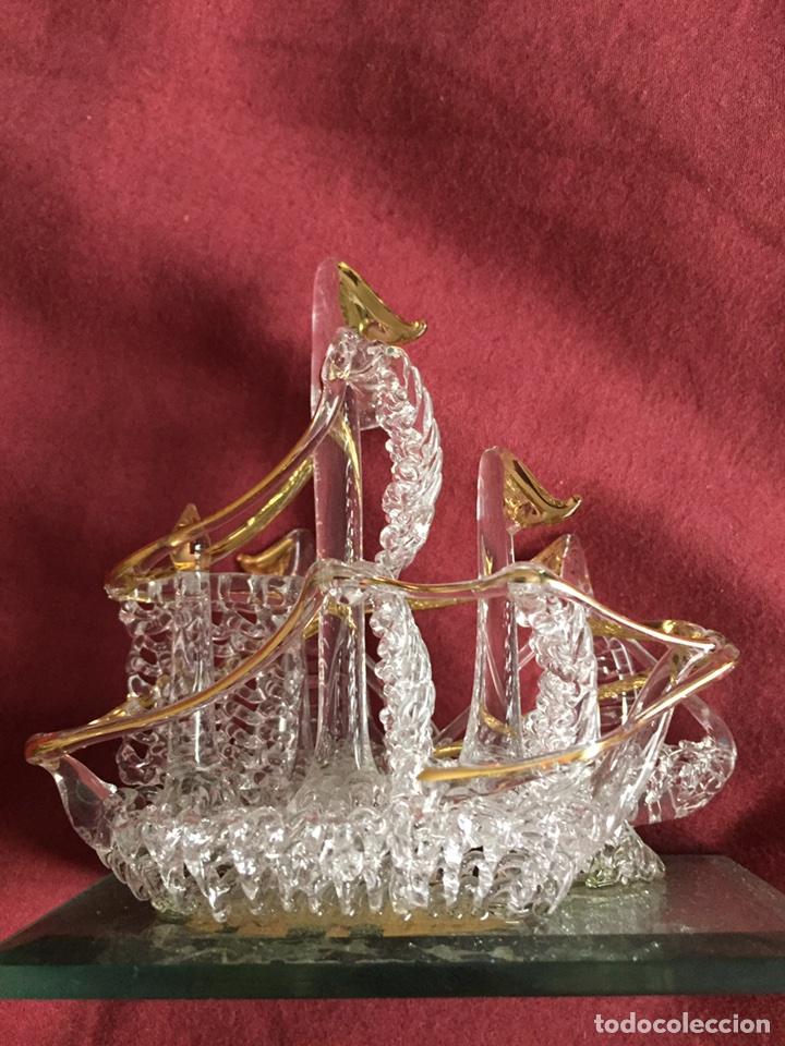 BARCO DE CRISTAL (Antigüedades - Cristal y Vidrio - Otros)