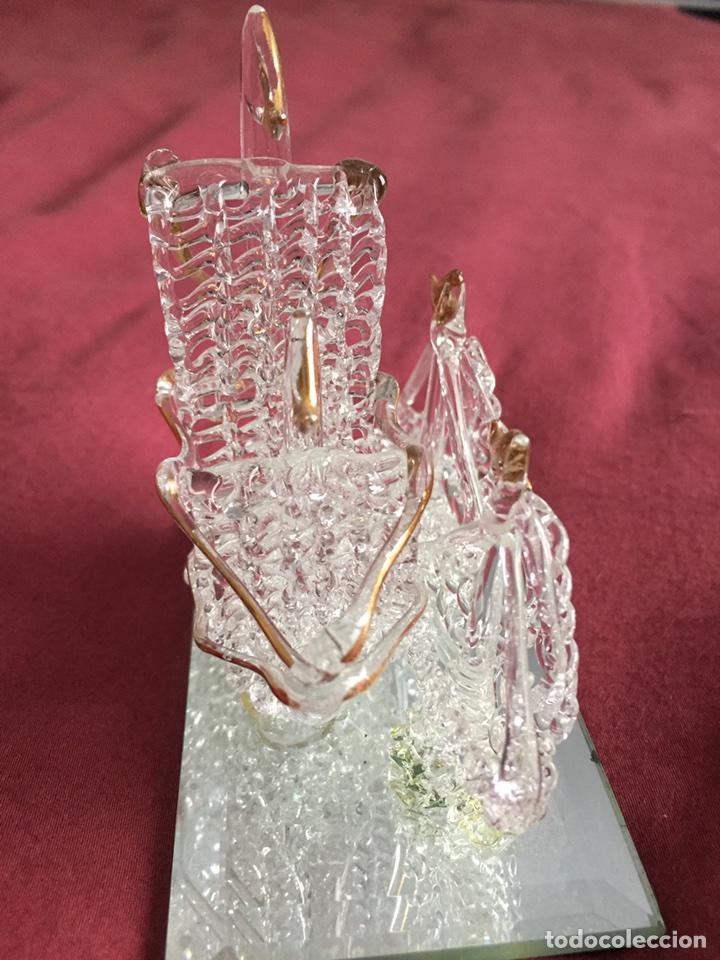 Antigüedades: Barco de cristal - Foto 4 - 86198780