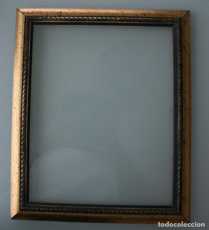marco de madera en color dorado para foto, foto - Comprar Marcos ...