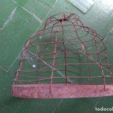Antigüedades: PROTECTOR DE BRASERO DE PICON O CARBON ARTESANAL AÑOS 50. Lote 86255704
