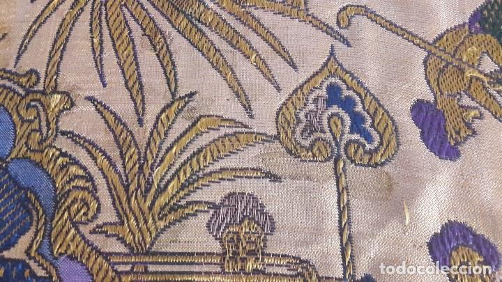 Antigüedades: Colcha antigua de seda - Foto 2 - 86272548