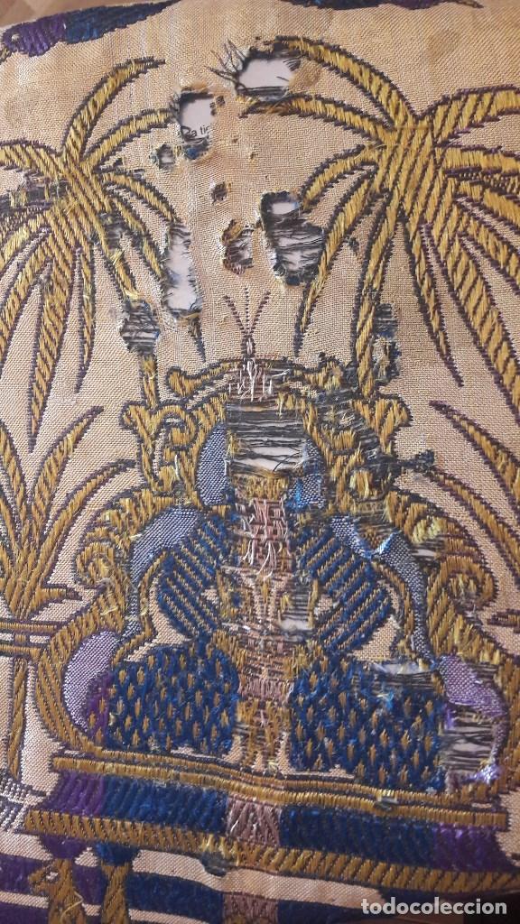 Antigüedades: Colcha antigua de seda - Foto 3 - 86272548