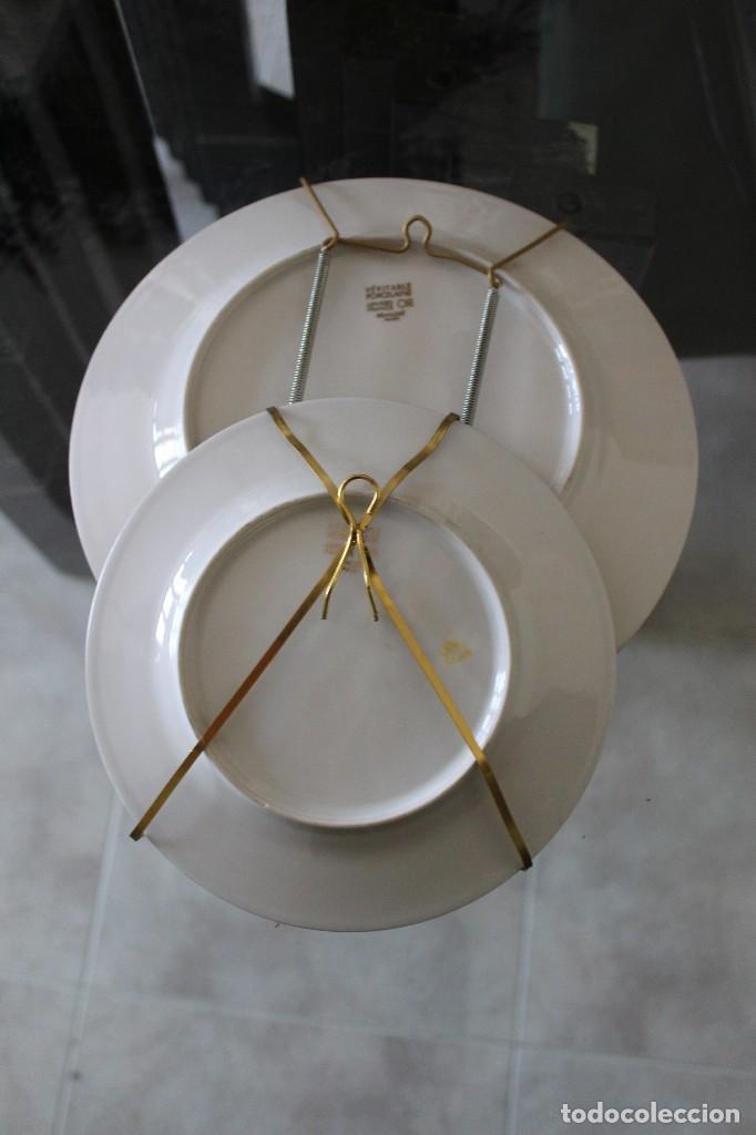 Platos decorativos con soporte para colgar lim comprar - Platos decorativos pared ...