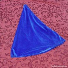Antiquitäten - Manto de terciopelo azul para Virgen de 50-55 ctm - 86302296
