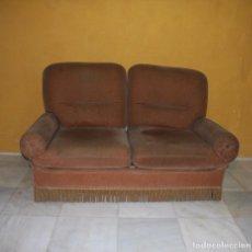 Antigüedades: SOFÁ CAMA TERCIOPELO. REF. 6037. Lote 86308604