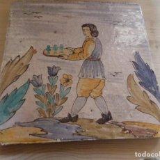 Antigüedades: AZULEJO CATALAN OFICIOS. Lote 86325736