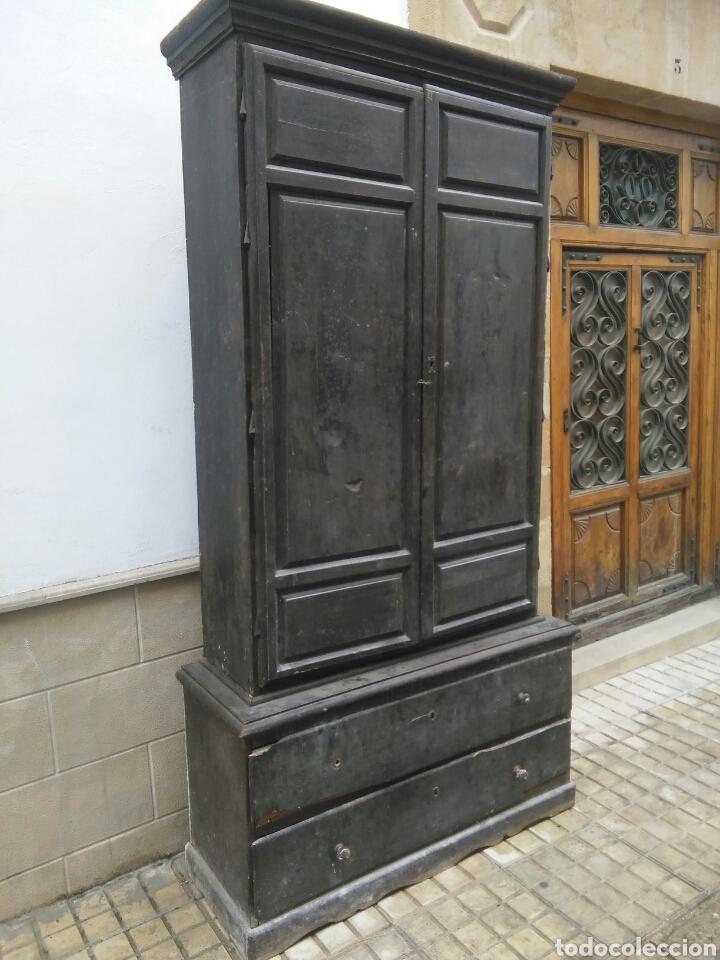 Antigüedades: Antiguo armario - Foto 2 - 86377931