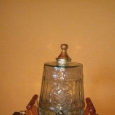 Antigüedades: BARRICA DE CRISTAL.. Lote 86392430