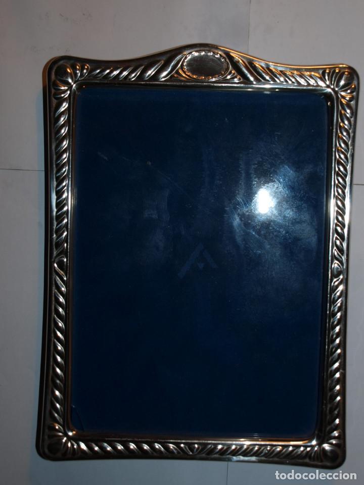 marco de plata de 21,5 x 15,7 cm. - Comprar Marcos Antiguos de ...