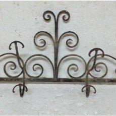 Antigüedades: ANTIGUO PERCHERO DE FORJILLA. Lote 86410248