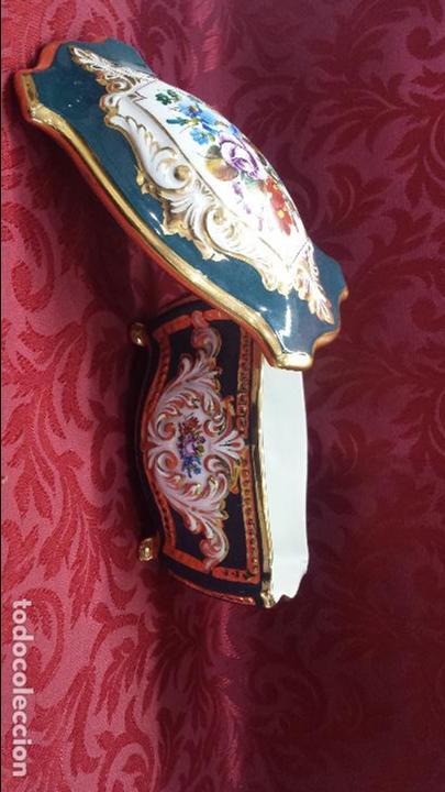 Antigüedades: CAJA JOYERO PORCELANA - Foto 2 - 86422008