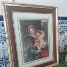 Antigüedades: BONITO CUADRO VIRGEN. Lote 86440666