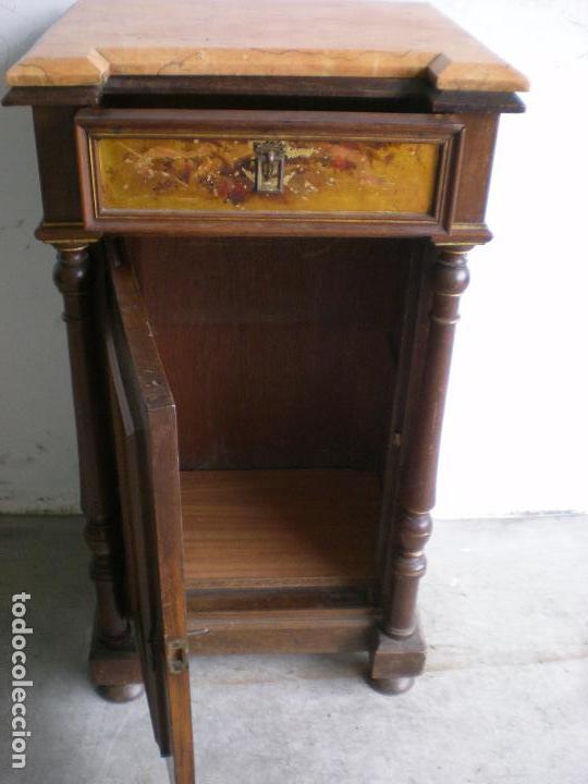 Antigüedades: ANTIGUA MESILLA DE NOCHE - Foto 2 - 86455320