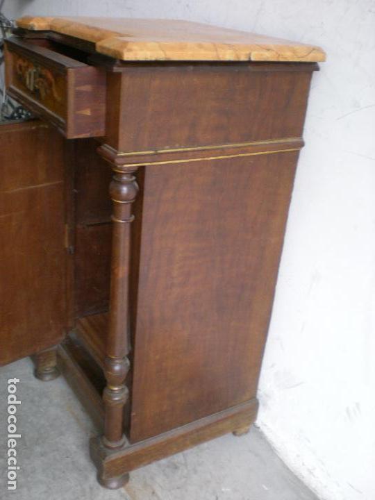 Antigüedades: ANTIGUA MESILLA DE NOCHE - Foto 4 - 86455320
