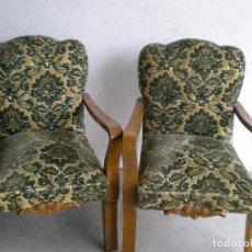 Antigüedades: PAREJA DE SILLONES. Lote 86455624