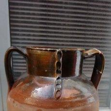 Antigüedades: 3 VASIJAS DE BARRO ANTIGUAS. Lote 86471544